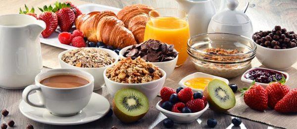 in-house breakfast, Gather restaurant, plennty of fresh food!