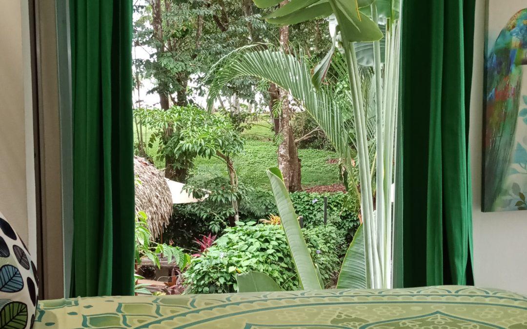 inside Air Villa view from bedroom, bedroom design
